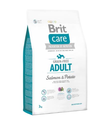 Brit Care Adult Salmon & Potato (Lazac&Burgonya) 3kg