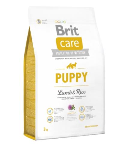 Brit Care Puppy Lamb & Rice (bárány rizs) 1kg