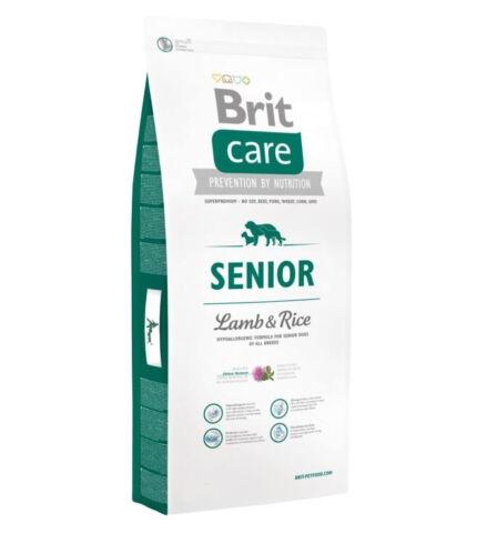 Brit Care Senior Lamb & Rice (bárány rizs) 1kg