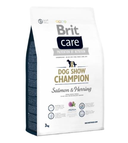 Brit Care Dog Show salmon&herring  (Lazac&Herring) 1kg