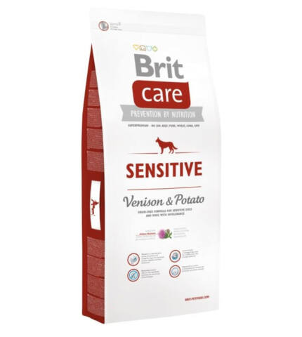 Brit CARE Sensitive Szarvas&Burgonya 1kg
