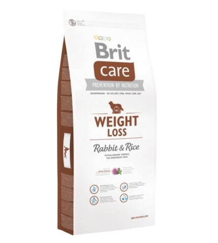 BRIT CARE WEIGHT LOSS RABBIT & RICE (nyúl rizs) 1kg