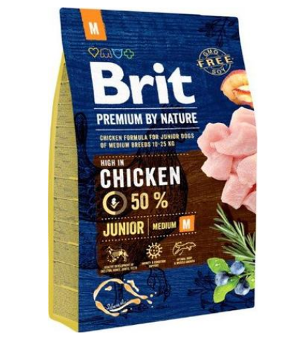 Brit Premium by Nature Junior Medium 3kg