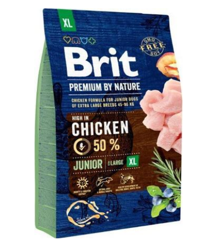 Brit Premium by Nature Junior Extra Large 3kg