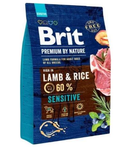 Brit Premium by Nature Lamb and Rice 3kg