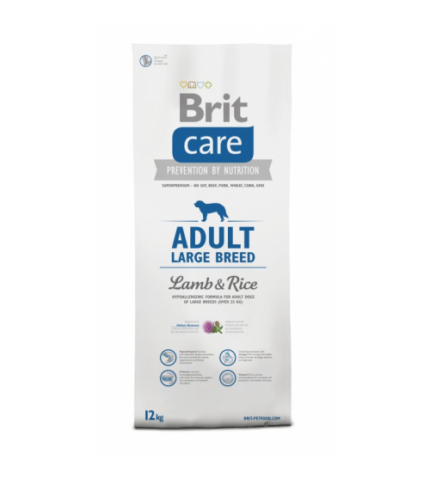 Brit Care Adult Large Breed Lamb & Rice (bárány rizs) 3kg