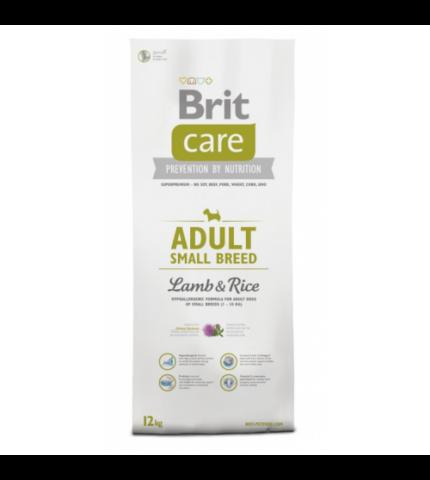 Brit Care Adult small Breed Lamb & Rice (bárány rizs) 1kg