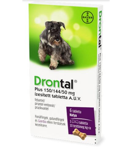 Drontal Plus flavour 10 kg alatti kutyáknak