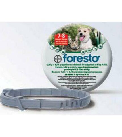 Foresto bolha és kullancs elleni nyakörv 70 cm 8 kg felett