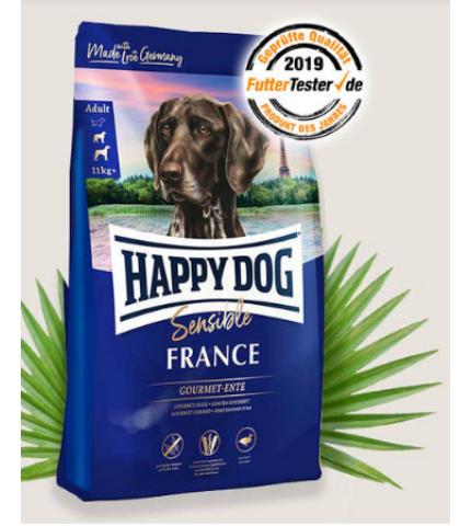 Happy Dog Supreme FRANCE KACSA BURGONYÁVAL