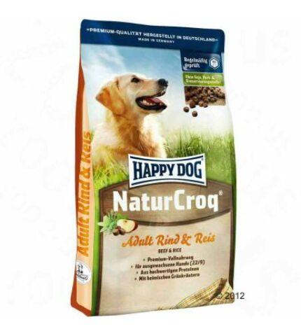 Happy Dog NaturCroq marha & rizs