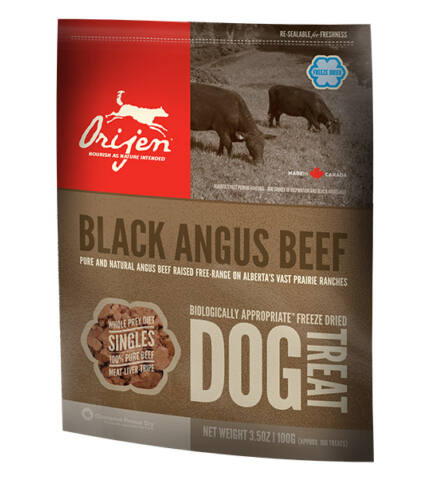 ORIJEN BLACK ANGUS BEEF FREEZE DRIED