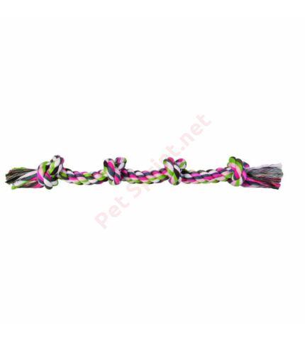 Trixie rágókötél négy csomóval 60cm