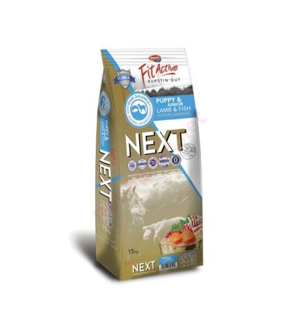 FitActive NEXT PUPPY Lamb&Fish with cranberries
