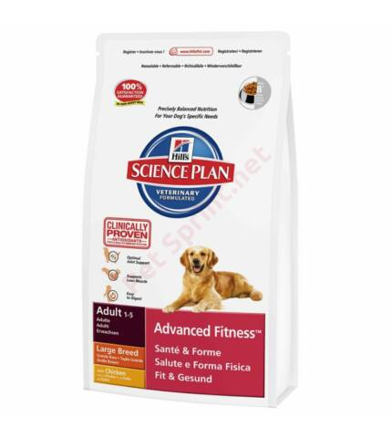 Hill's SP Canine Adult Advanced Fitness Large Breed Chicken kutyatáp