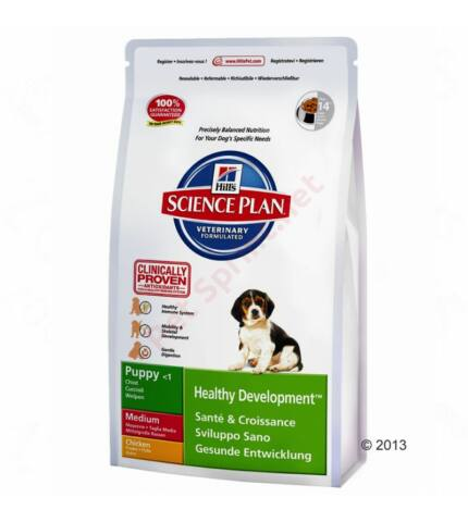 Hill's SP Puppy Healthy Development Medium Chicken