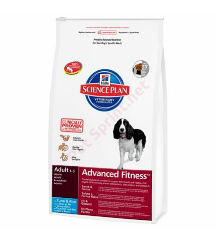Hill's SP Canine Adult Advanced Fitness Tuna & Rice kutyatáp