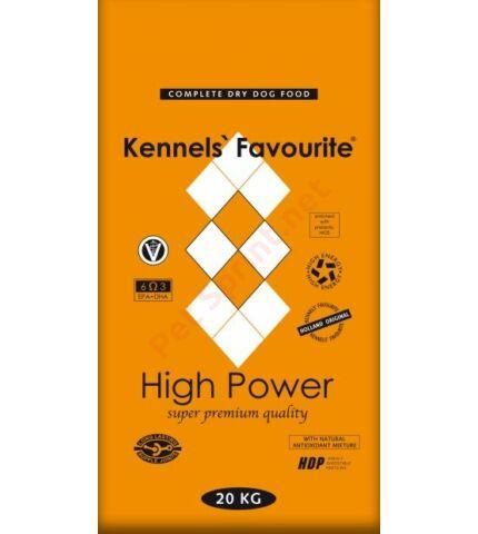 Kennels' Favourite High Power kutyatáp