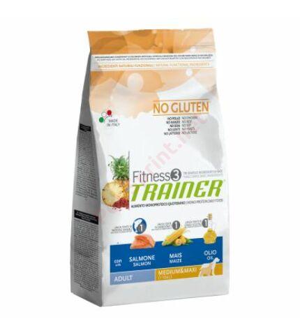 Trainer Fitness3 Adult Medium/Maxi Fish-Maize-Oil(ha,kukorica,kukoricaolaj)12,5kg