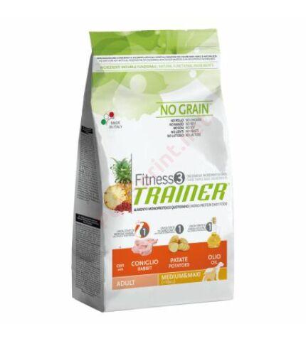 Trainer Fitness3 Adult Medium & Maxi Rabbit-Potatoes-Oil(nyúl,burgonya,kukoricaolaj) 12,5kg