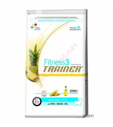 Trainer Fitness3 Adult Mini Fish-Maize-Oil(hal.kukorica,kukoricaolaj) 7,5kg