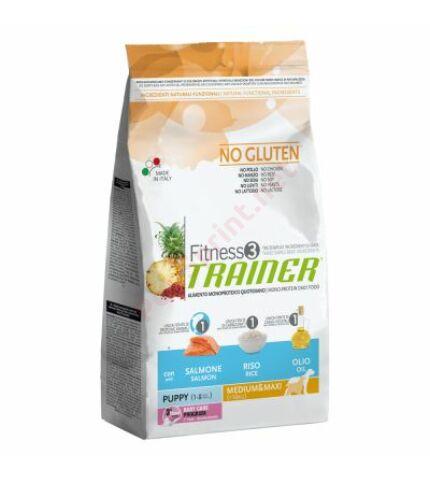 Trainer Fitness3 Puppy & Junior Medium/Maxi Fish-Rice-Oil (hal,rizs,kukorica olaj)