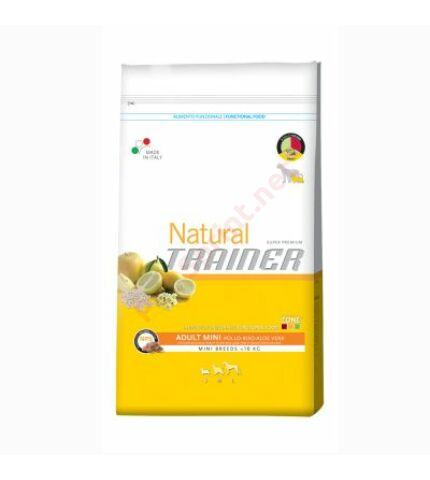Trainer Natural Mini Csirke, Rizs & Aloe vera 7,5kg