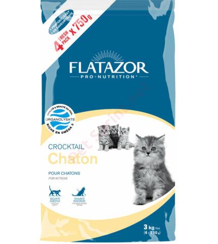 Flatazor Crocktail Kitten macskatáp