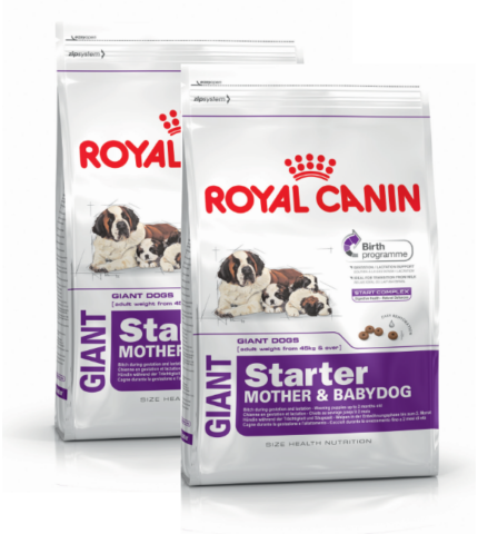 ROYAL CANIN GIANT STARTER M&B 2X15KG
