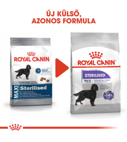 Royal Canin Maxi Steril 9kg