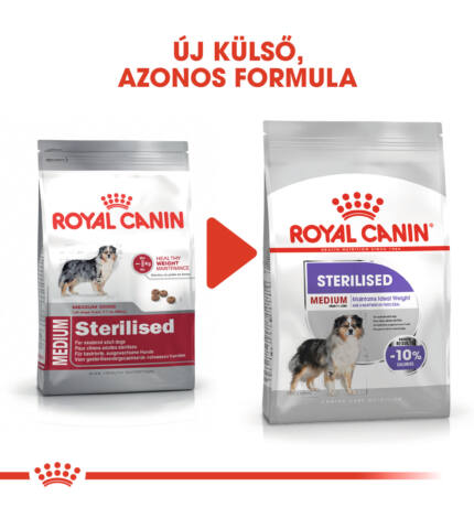 Royal Canin Medium Steril  3kg