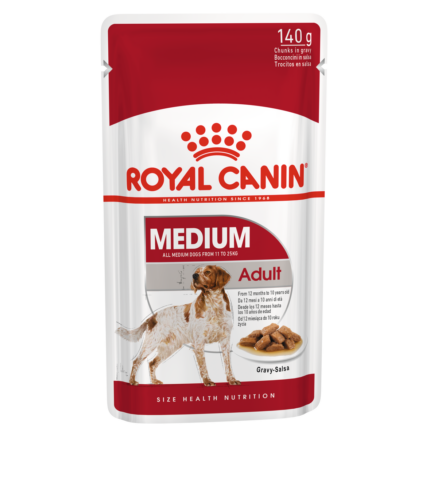 ROYAL CANIN WET MEDIUM ADULT 140G