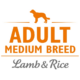Brit Care Hypoallergen Adult Medium Breed Lamb & Rice (bárány rizs) petsprint.net
