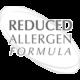 csökkentett allergizálás