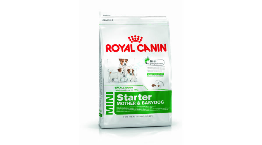 royal canin mini starter m b kistest nek. Black Bedroom Furniture Sets. Home Design Ideas
